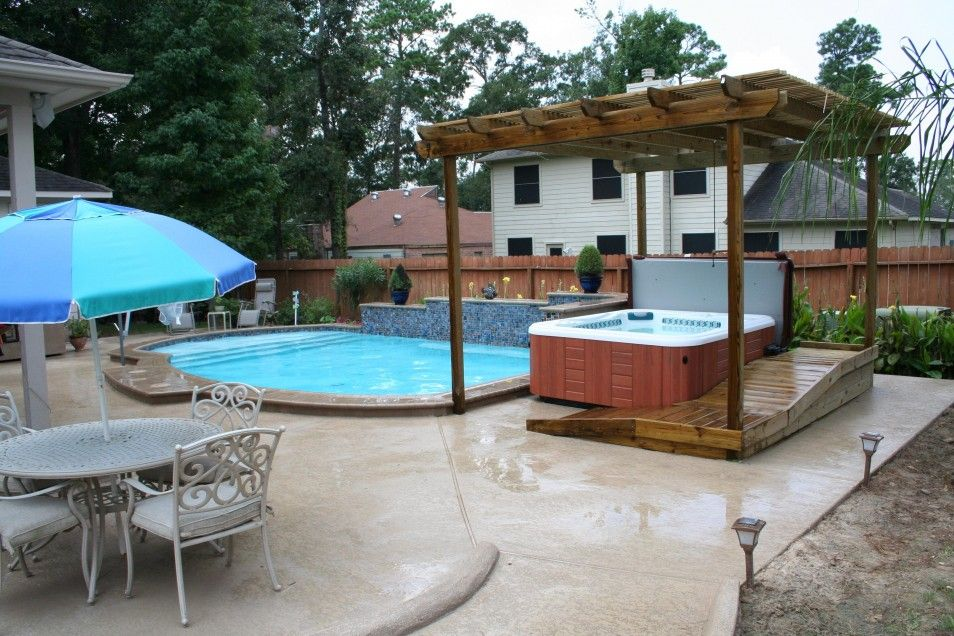 Exceptional Best Backyard Spa Ideas In The World Backyard Hydrotherapy Spa Houston  Arbor Gallery Richards Total Backyard Solutions Exterior Backyard Pool Spa  Ideas.