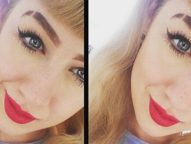 People Are Shaving Their Eyebrows And It Looks Fly AF ...