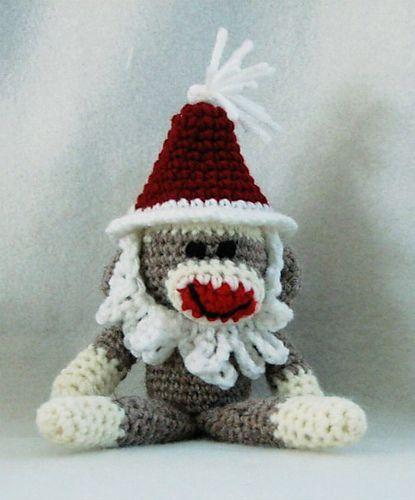 Ravelry Santa Crochet Sock Monkey Pattern Pattern By Sherri Bush