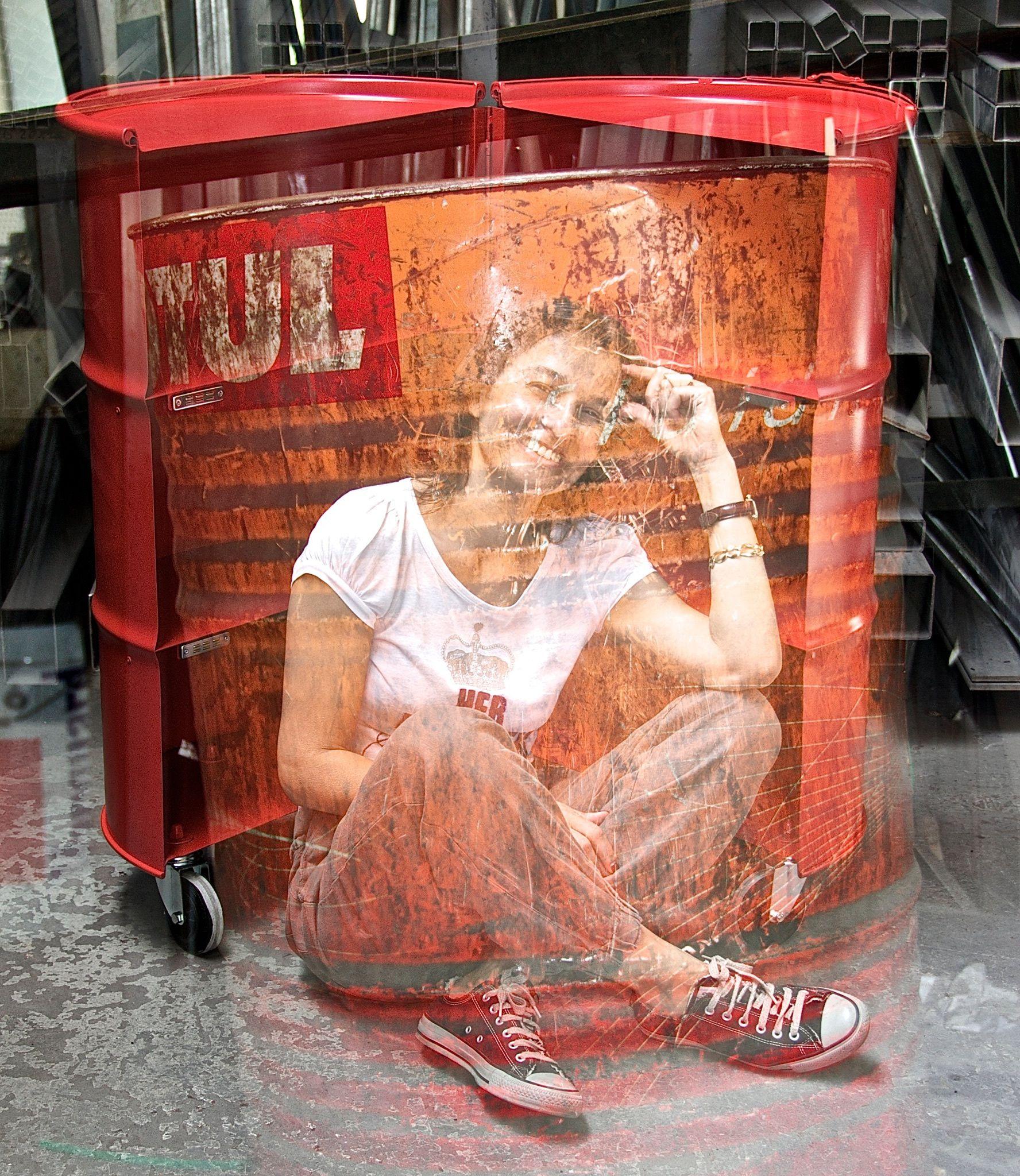 francesca cutini in triennale #milan #barrel12 #oilbarrel ...