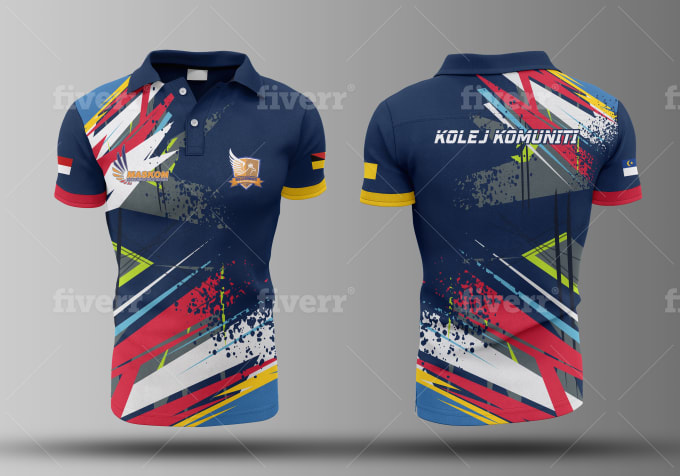 Download Design Full Print Sublimation Jersey By Under21 Sport Shirt Design Polo Shirt Design Sports Shirts