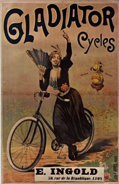 """Una raccolta di poster dedicati all'emancipazione delle donne cicliste. E pensare che nel 1800 avevano inventato la finta malattia """"Faccia da bicicletta"""" pur di non farle salire sulle due ruote!"""