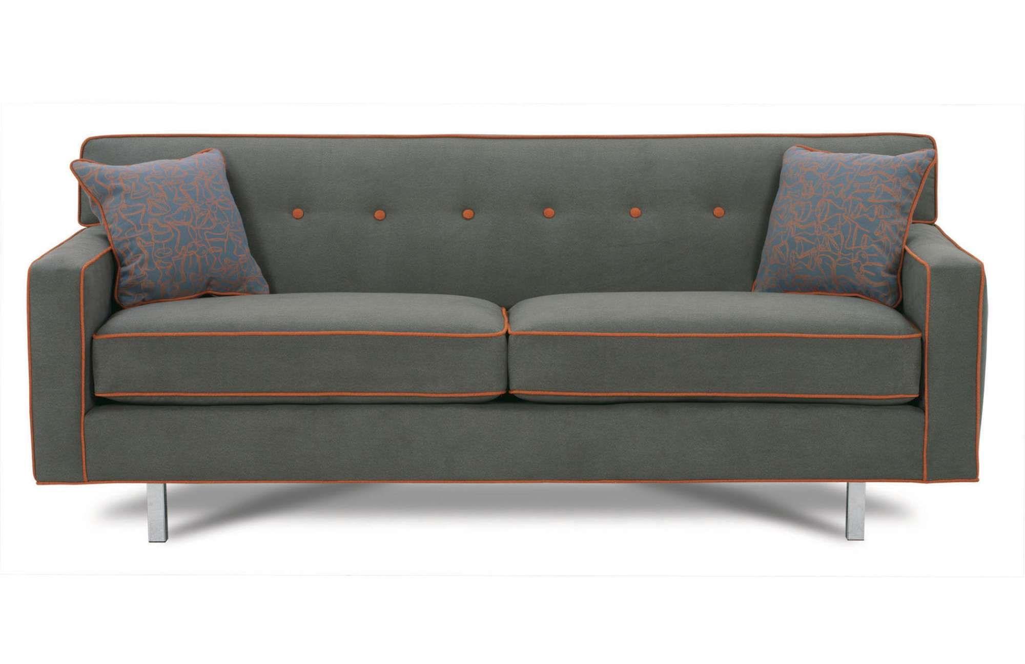 Sofa BedSleeper Sofa Dorset Chrome Sofa Rowe Furniture