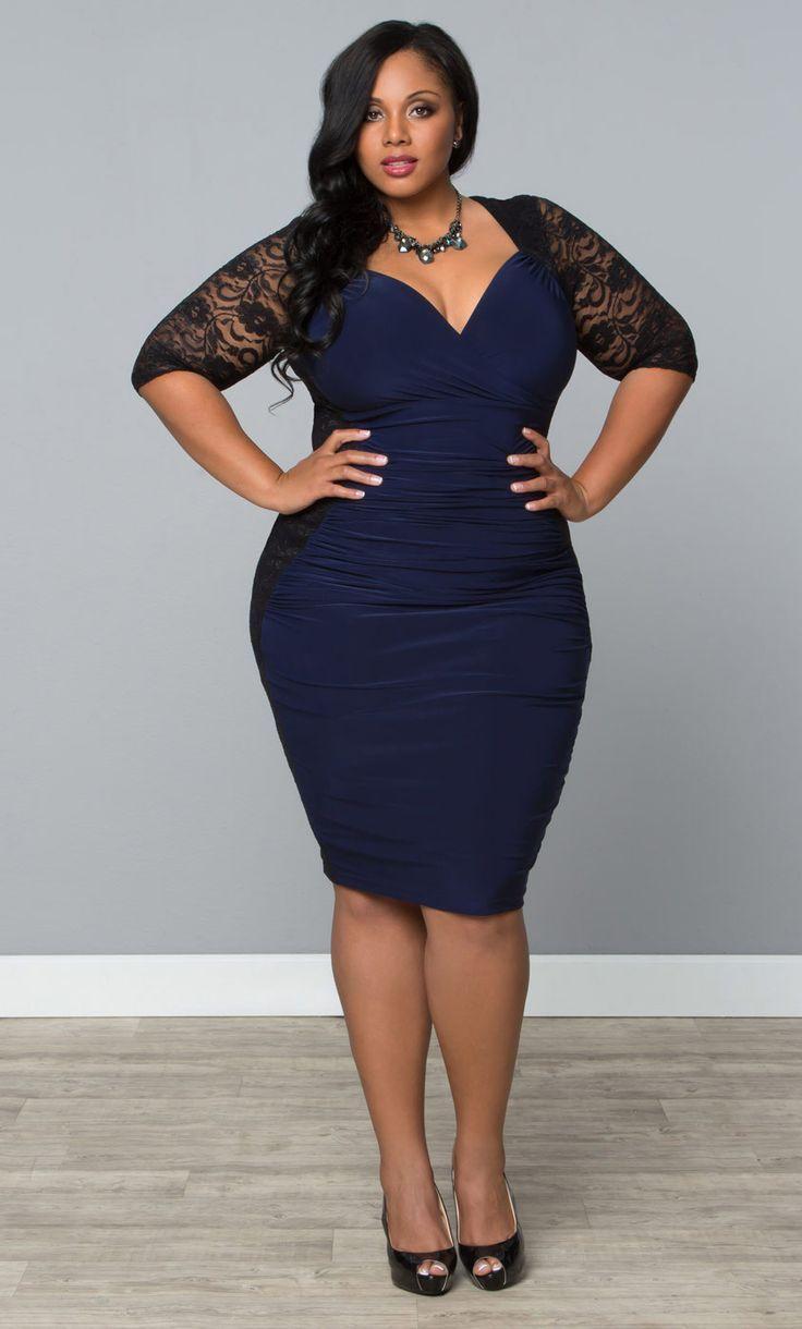 Show Off Those Sexy Curves In Kiyonnas Plus Size Valentina Illusion