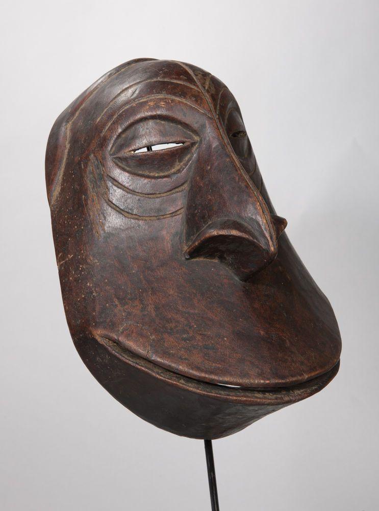 Hemba Chimpanzee Mask, D.R. Congo