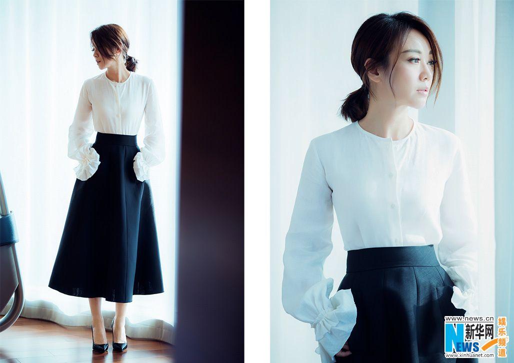 China Entertainment News: Yang Mi poses for photo shoot