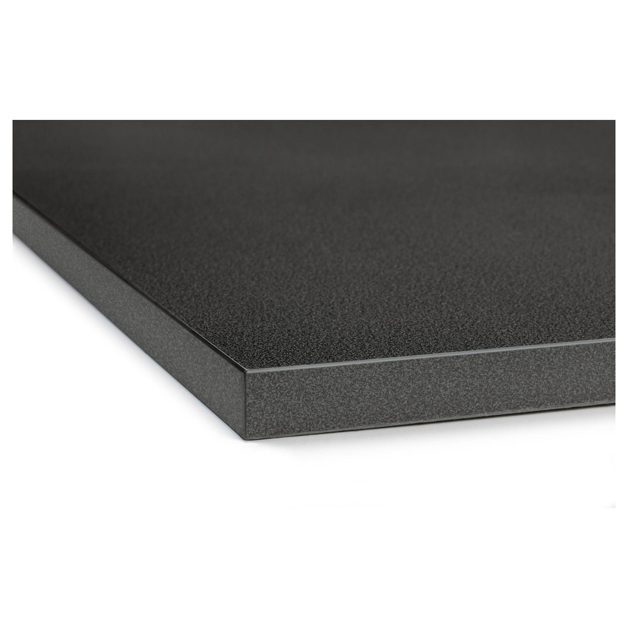 Ikea Ekbacken Countertop Black Stone Effect Countertops