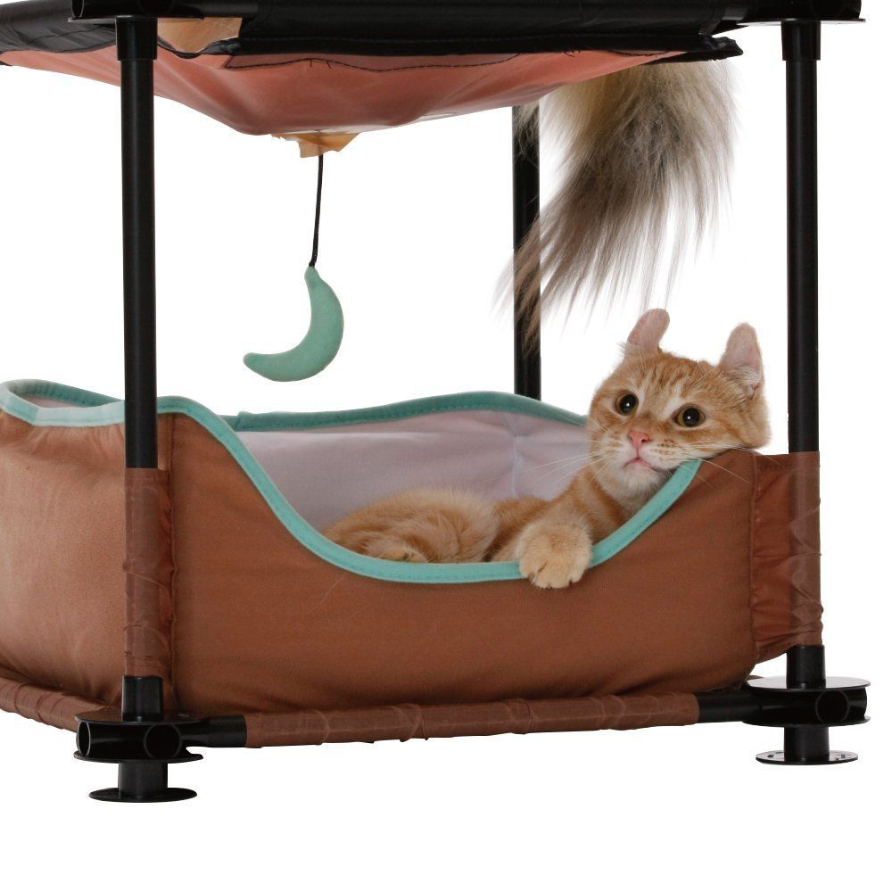 Kitty City 17 Sleeper Steel Cat Condo Stop Everything And Read More Details Here Cat House Cat Condo Cat Tree Condo Cat Bed