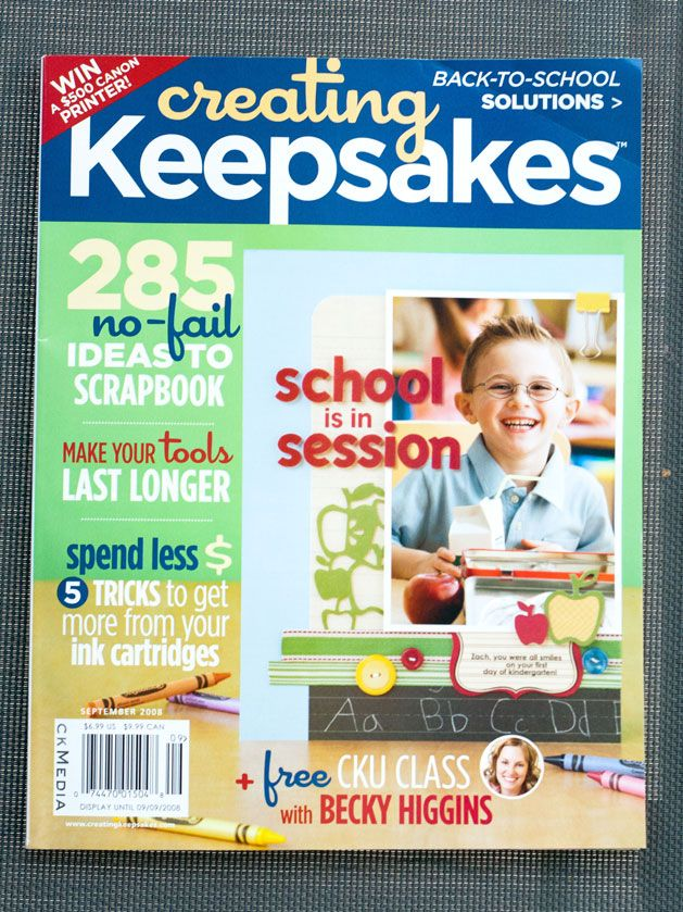 Creating Keepsakes-the top scrapbooking magazine