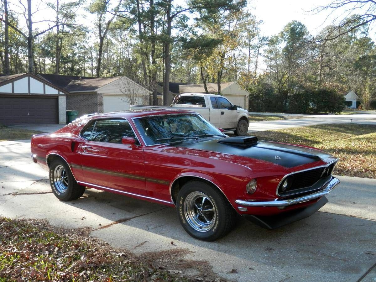 1969 ford mustang mach 1 428 cobra jet r code image 1 of
