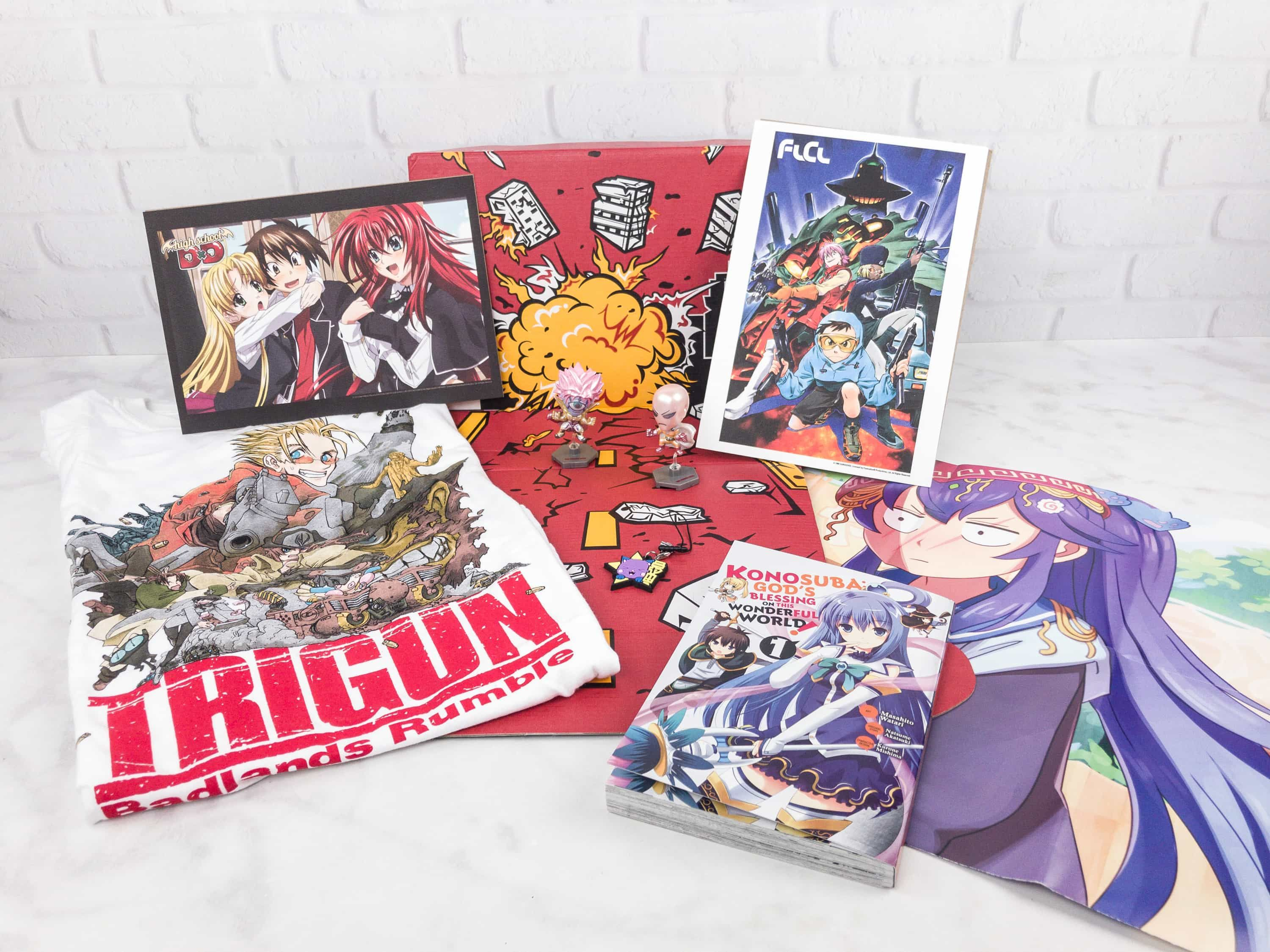 Loot Anime July 2017 Subscription Box Review Coupons
