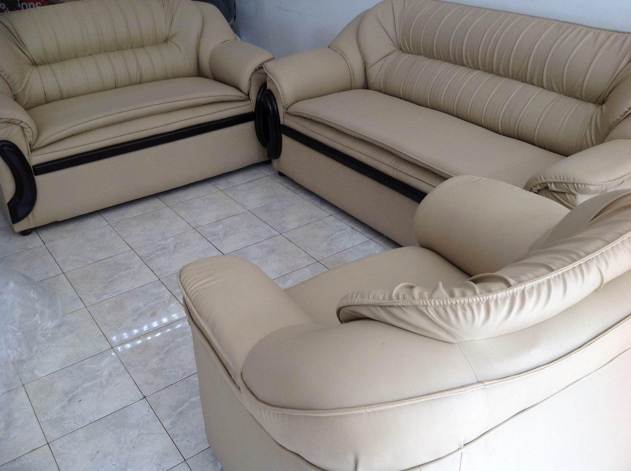 Rexine Sofa 3 2 1 Living Room Furniture Furniture Room Furniture