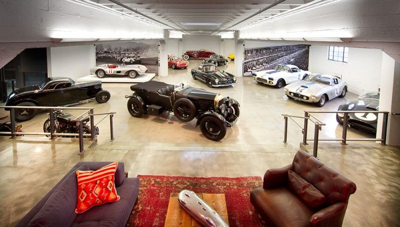 An Inside Look At Bruce Meyer S Ultimate Man Cave And Car Collection Home Man Cave Garage Design
