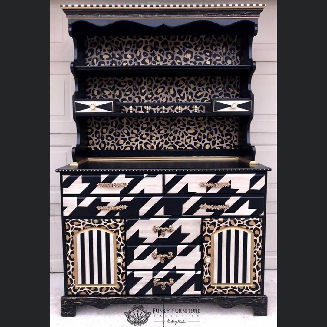 """Funky Furniture Facelifts on Instagram: """"Did you know that once you become a Brush with Brittany member..I have an exclusive leopard print BUNDLE (hint hint, there's more 😉) that…"""""""