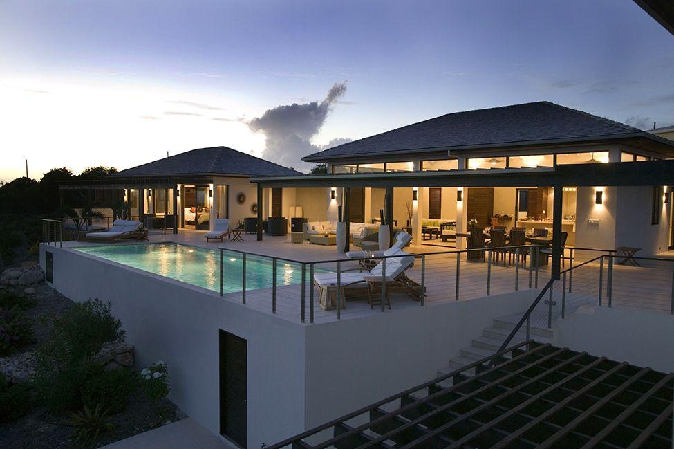 winning caribbean houses design. Architecture design Reinterpreted Traditional Caribbean in a Modern Way