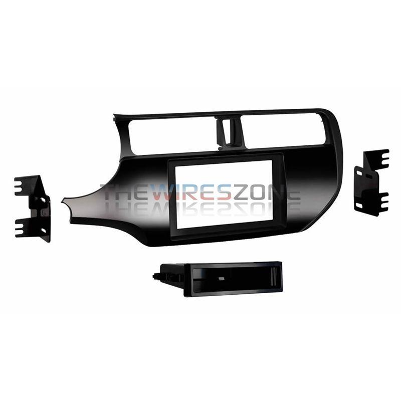 Black Metra 99-6519B Single//Double DIN Installation Dash Kit for Select Dodge Vehicles