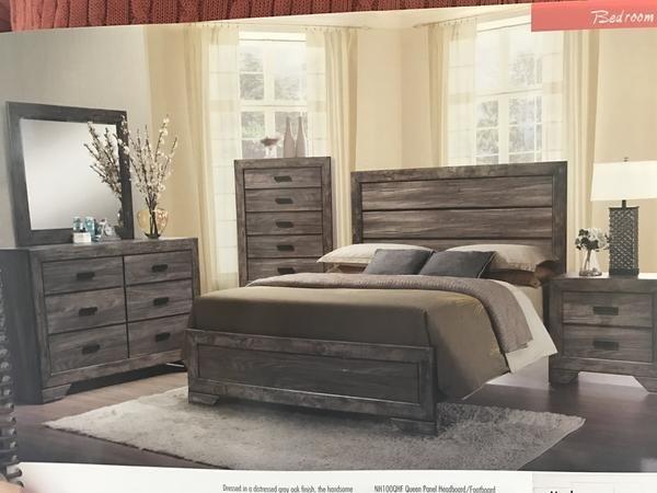 Best Cnlnh100 Rustic Gray Nathan Bedroom In 2020 Rustic Grey 400 x 300