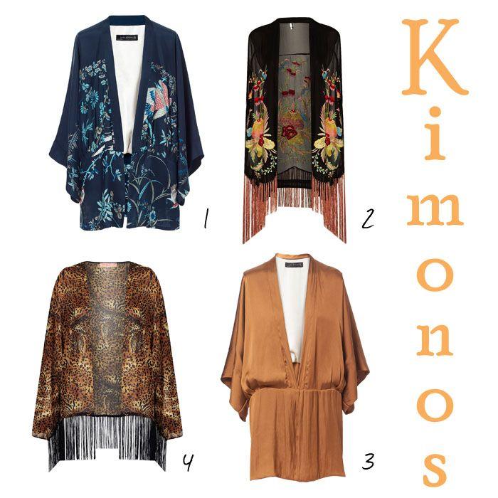Un kimono, dos kimonos, tres kimonos