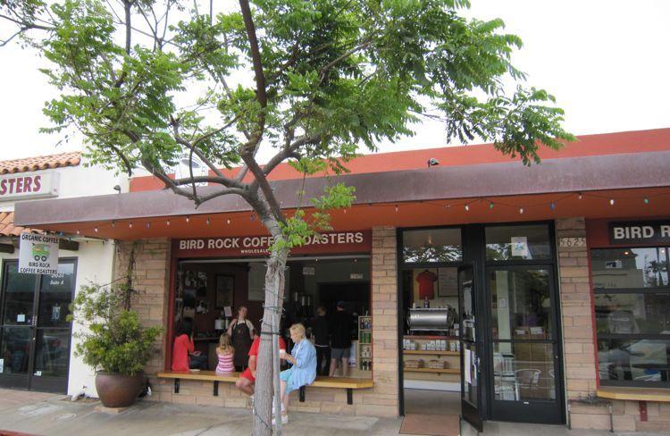 Bird Rock Coffee @ La Jolla .