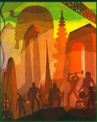 Pin By Organizer Bx On Aaron Douglas Artist Art African