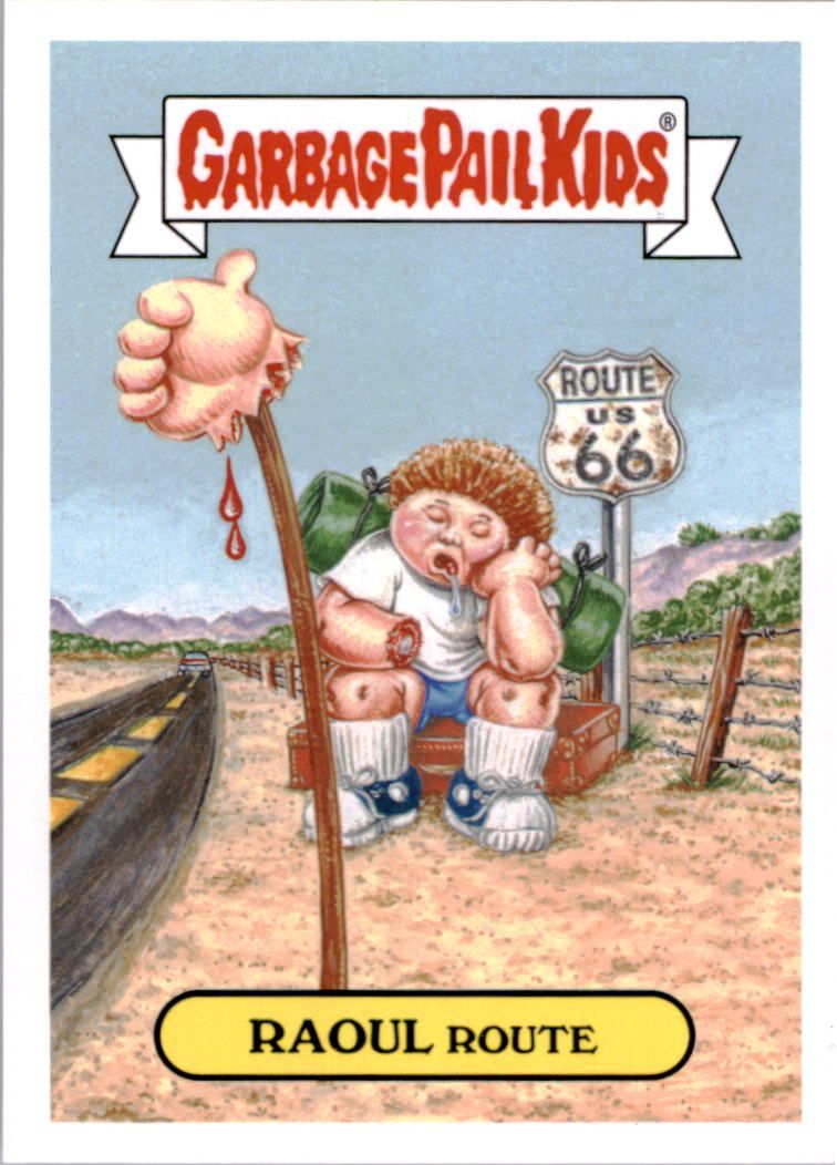 2016 Garbage Pail Kids Apple Pie #37b Raoul Route
