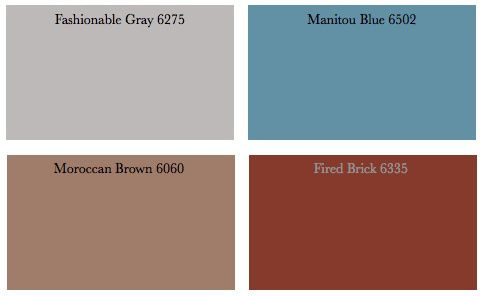 Colors That Go With Gray And Reds What Paint Furniture Decorating By Donna