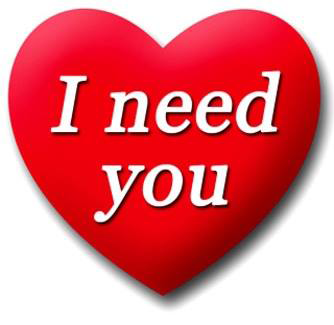 I need you heart