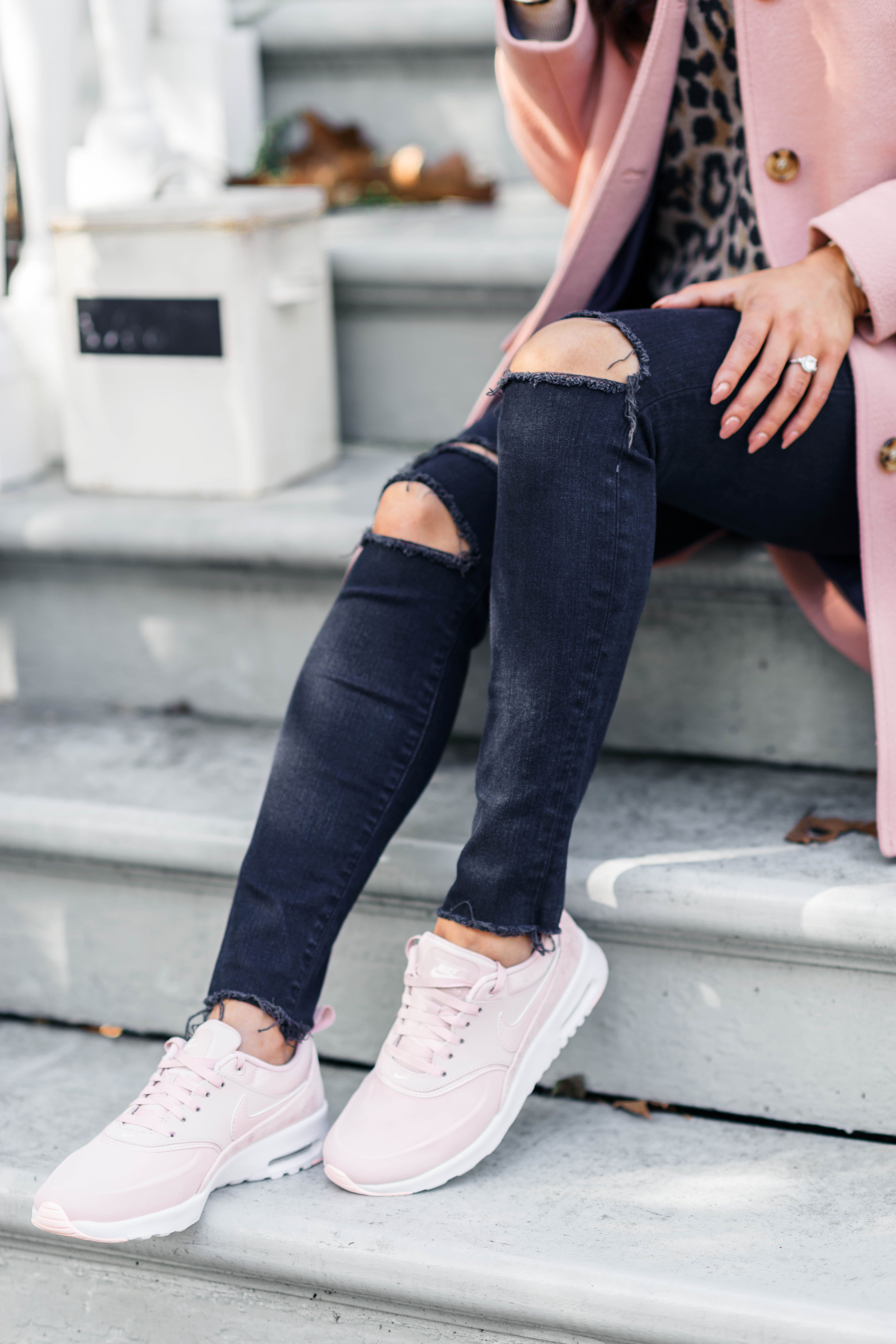 How to Style Sneakers for Fall - Color