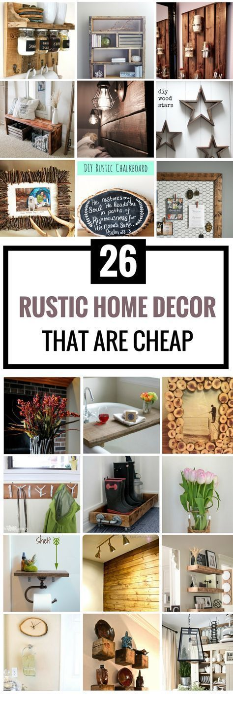 Are you looking for some DIY Rustic Home Decor Ideas to add in your