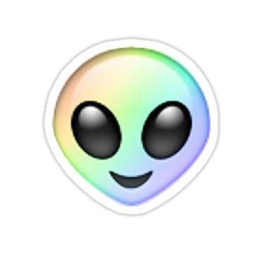 Cute Alien Iphone Wallpaper Alien Emoji Sticker By Dxstract Emoji Aliens And