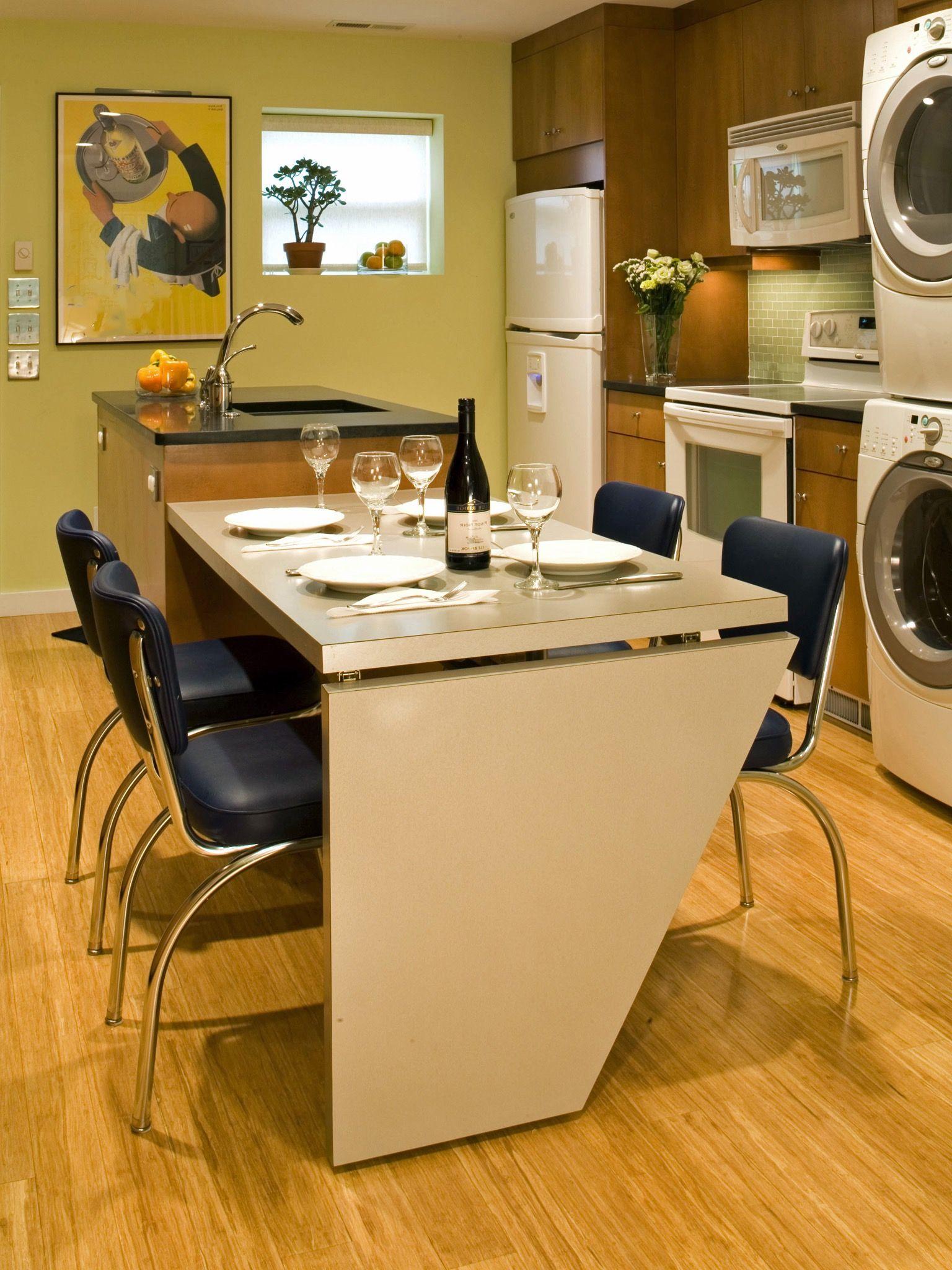 U küchendesignpläne kleinen raum lösung küche und waschküche combo küchen  küchen
