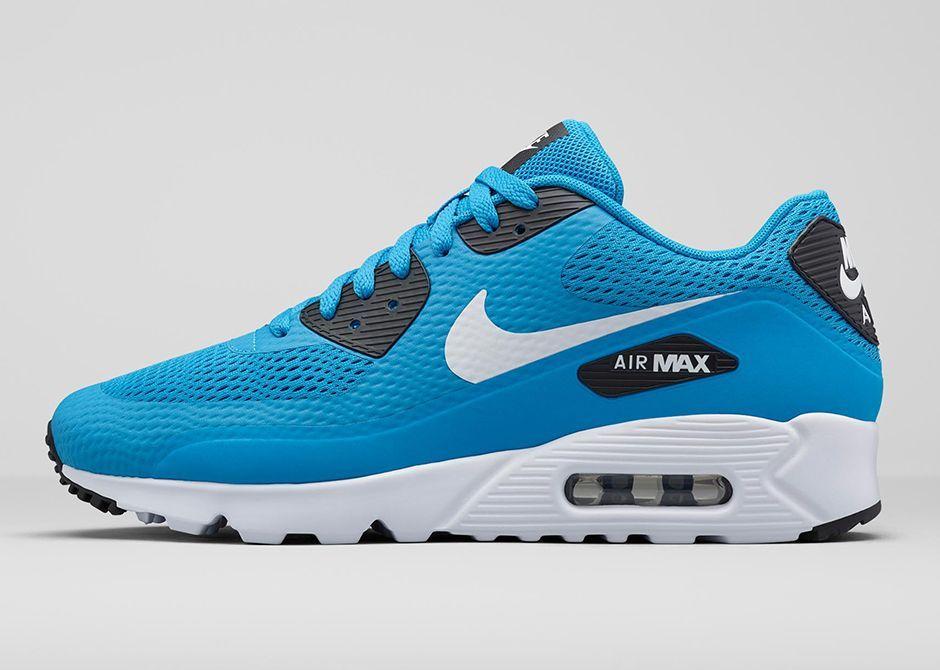 blue air max 90 ultra essential