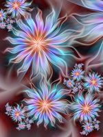 ♥♥ ⊰❁⊱  Desierto Rosa por Joe Maccer. ⊰❁⊱ (fractal art)