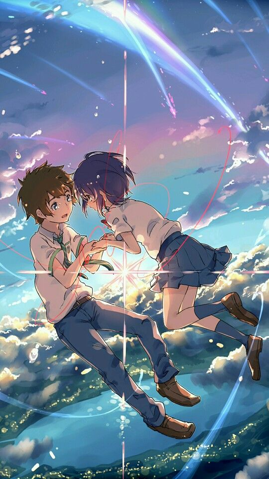 Anime Kimi No Na Wa Your Name Wallpaper Lockscreen Hd Fondo De Pantalla Fondo De Anime