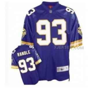 8eed0f309 nfl jersey 85 off Mitchell Ness Vikings John Randle Purple Stitched Throwback  NFL Jersey