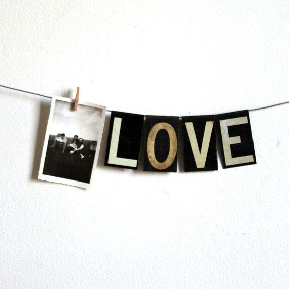 Black and white love.