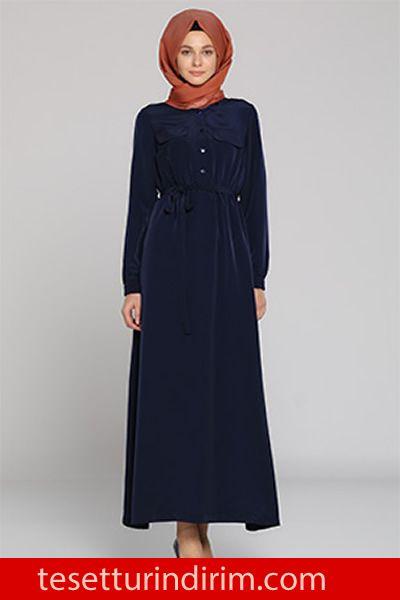 05787026c3769 Tozlu Giyim Kışlık Tesettür Elbise Modelleri, #EşarpModelleri #kapmodelleri  #kışlıktesettürelbisemodelleri #tesettürelbise #