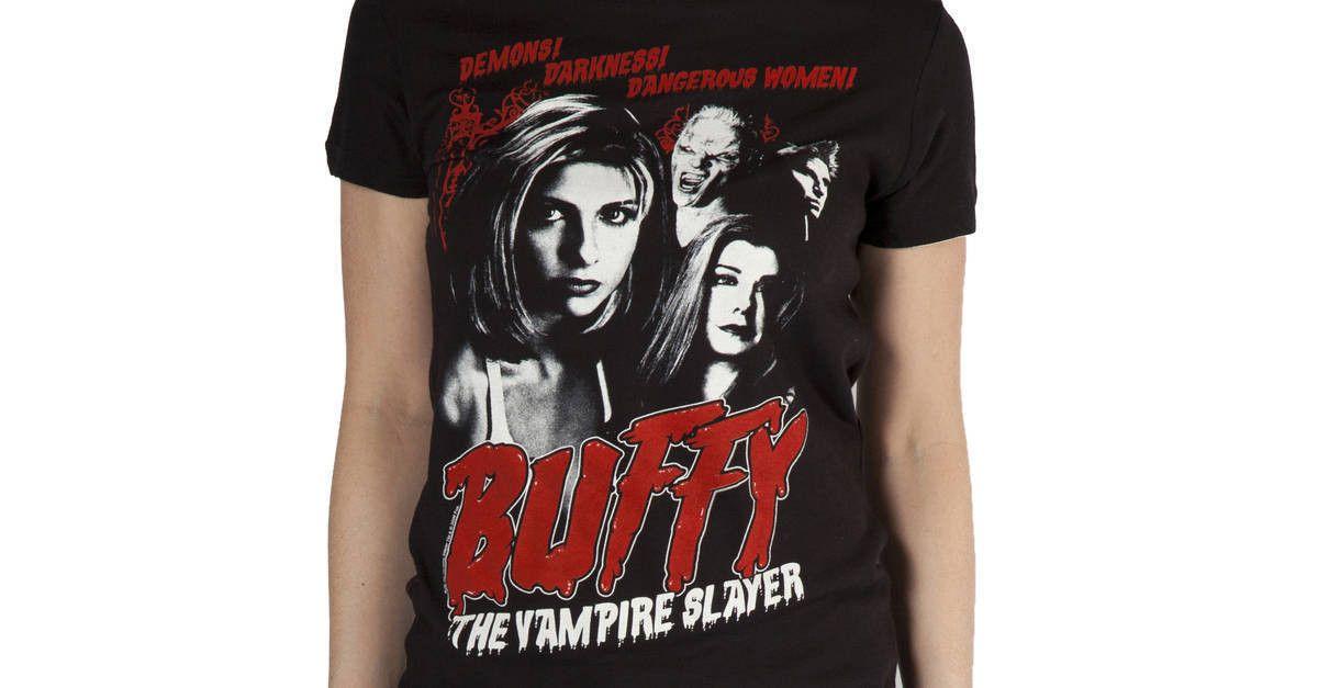 Demons buffy the vampire slayer tshirt buffy buffy the
