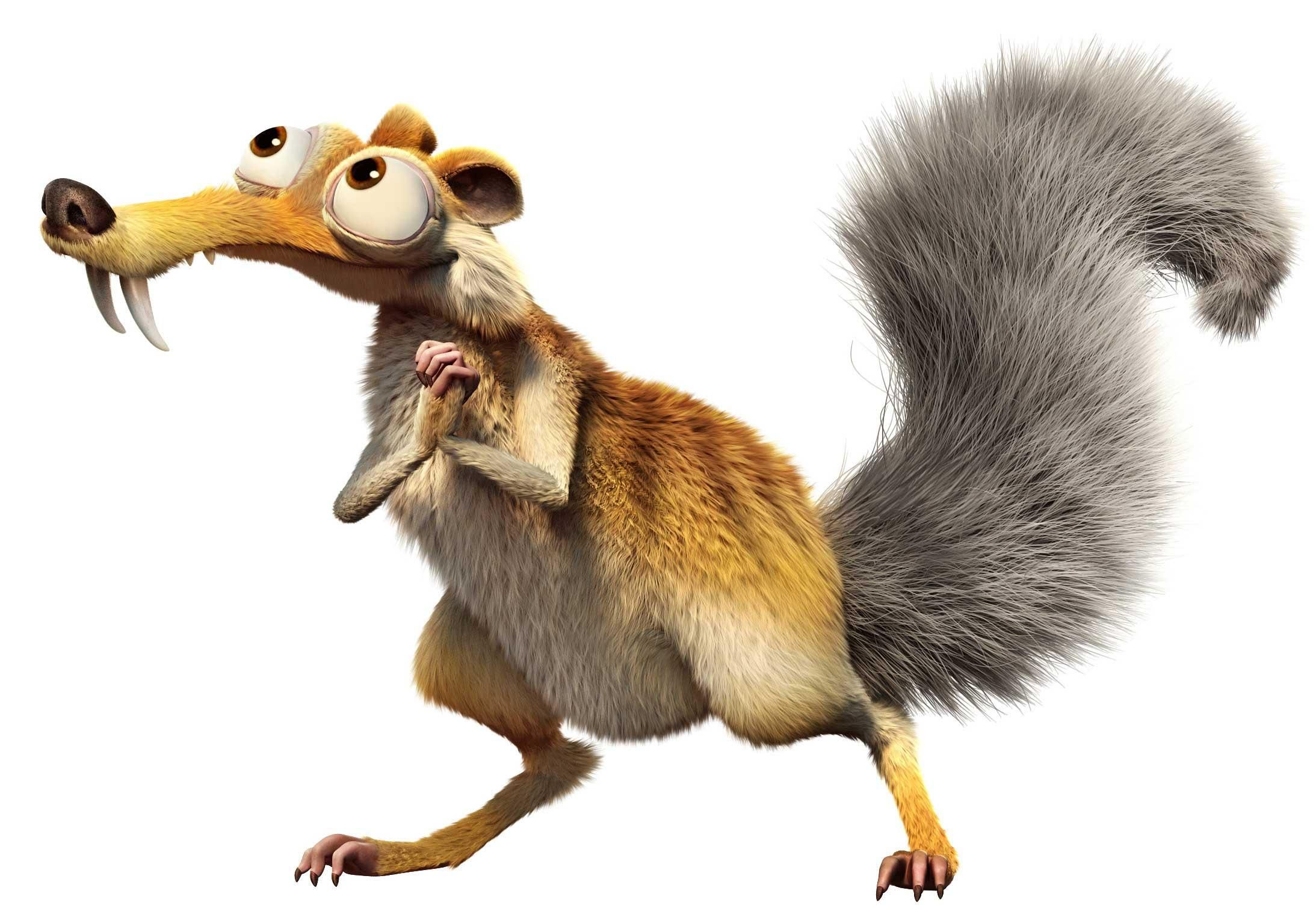 Good Squirrel From Ice Age #1 - Ice Age Characters Squirrel   Ice ...