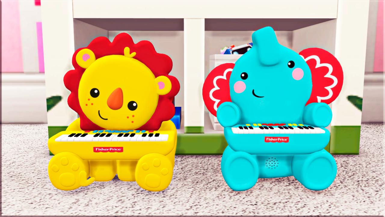 Fisherprice Piano Sound Pose Sims 4 Toddler Furniture Cc