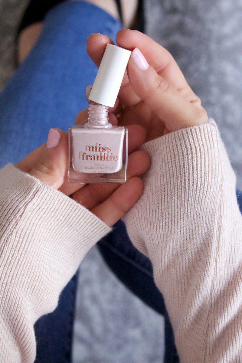 miss frankie nail polish vegan cruelty free made in