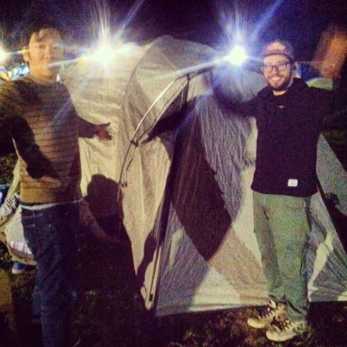 coachella post   we finally propped our tent