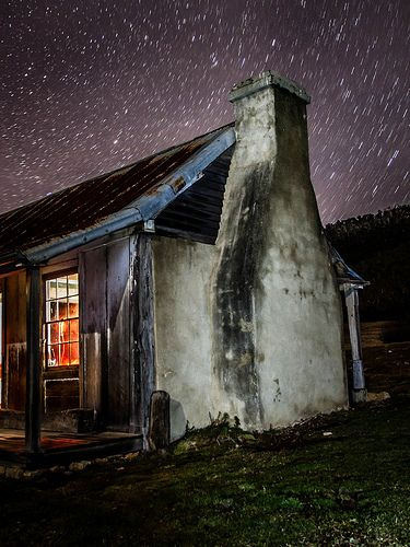 Orroral Homestead star trails