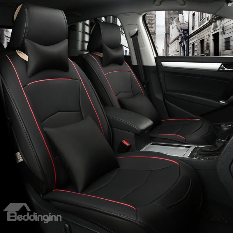 Plain Sports Styled Design With Streamline Patterns Universal Car Seat Covers Car Seats Carseat Cover Seat Covers