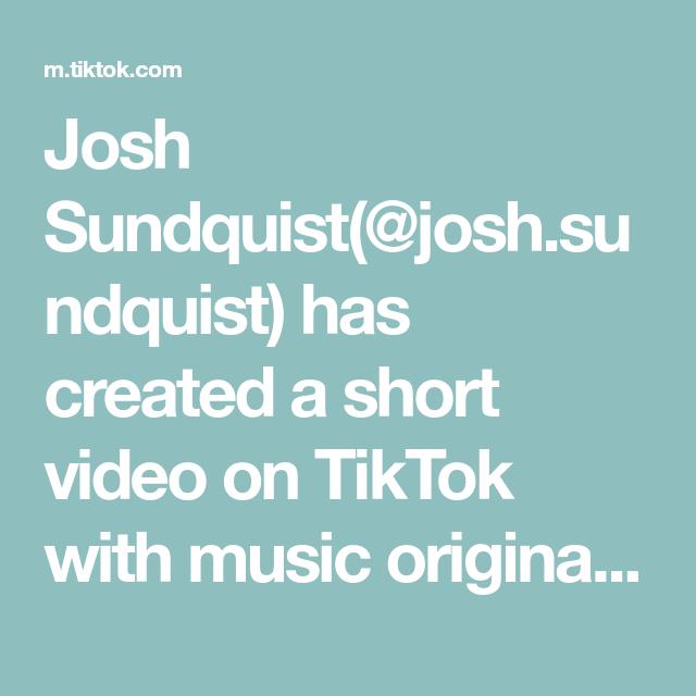 Josh Sundquist Josh Sundquist Has Created A Short Video On Tiktok With Music Original Sound My Missing Prostate Follow For New Vid Video Music Love Songs
