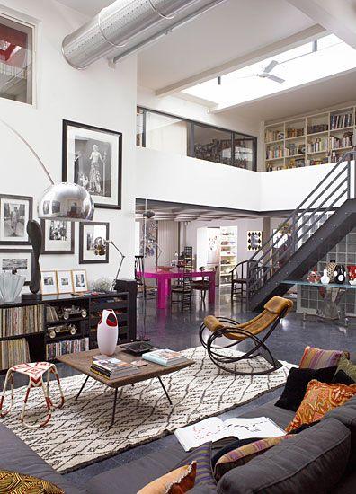 Ruy Teixeira Y Bohemio Loft Ideas Home House Apartment