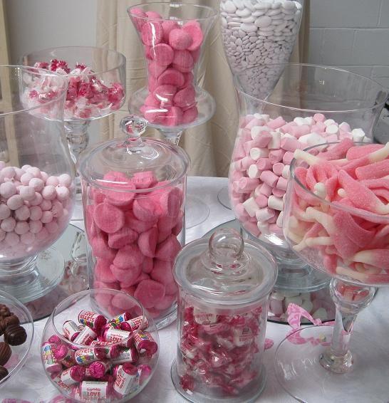 Thinking a Candy Buffet is a must!   Wedding   Pinterest   Buffet ...