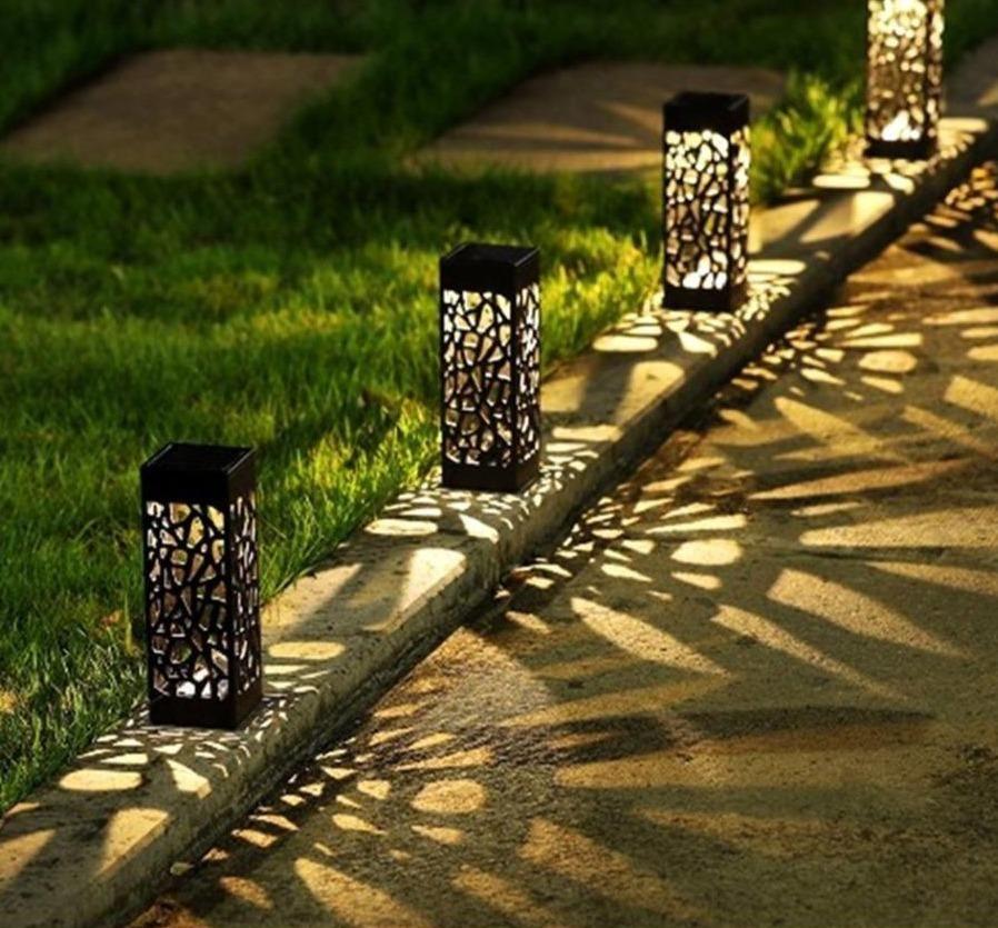 Abbas Moroccan Outdoor Solar Lamps In 2021 Solar Lights Garden Outdoor Path Lighting Outdoor Path