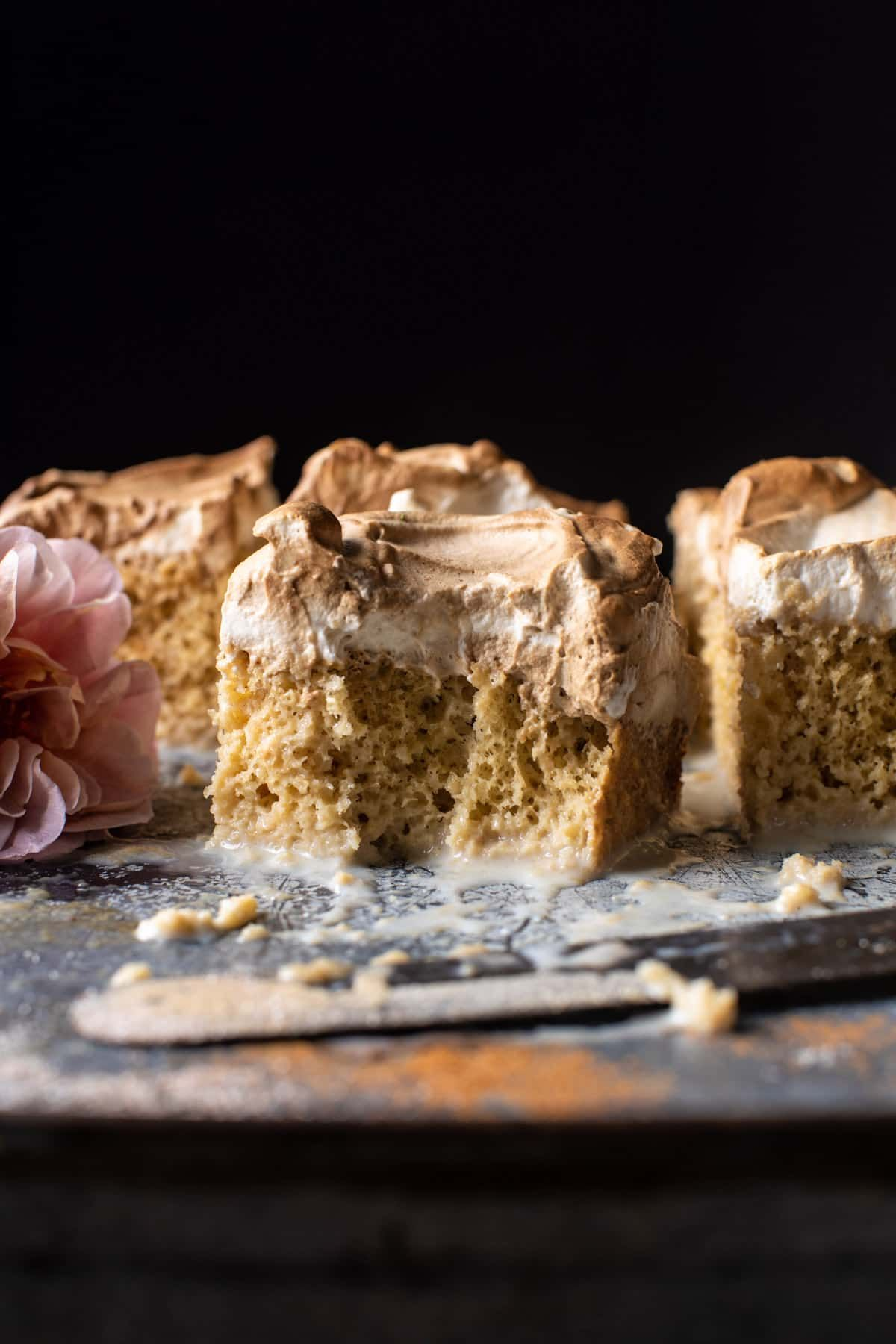 Dirty Horchata Tres Leches Cake | halfbakedharvest.com