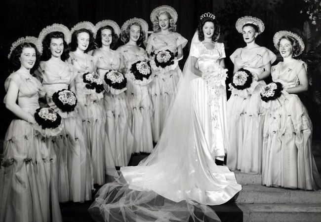 A Look Back At Shirley Temple's 1945 WeddingDay